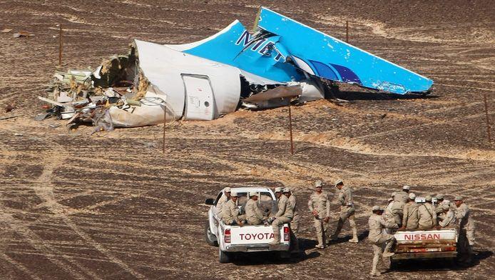 Egypte: jihadisten beschikken niet over raketten die zo hoog een doel kunnen raken.