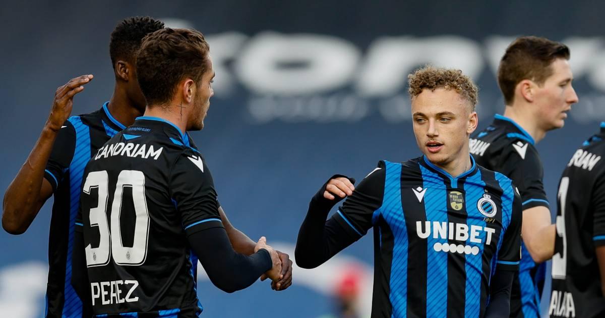 Herstelde Noa Lang meteen weer trefzeker voor Club Brugge - AD.nl