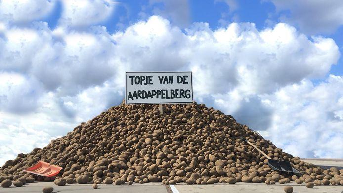 Zaterdag verschijnt er een aardappelberg in Utrecht.