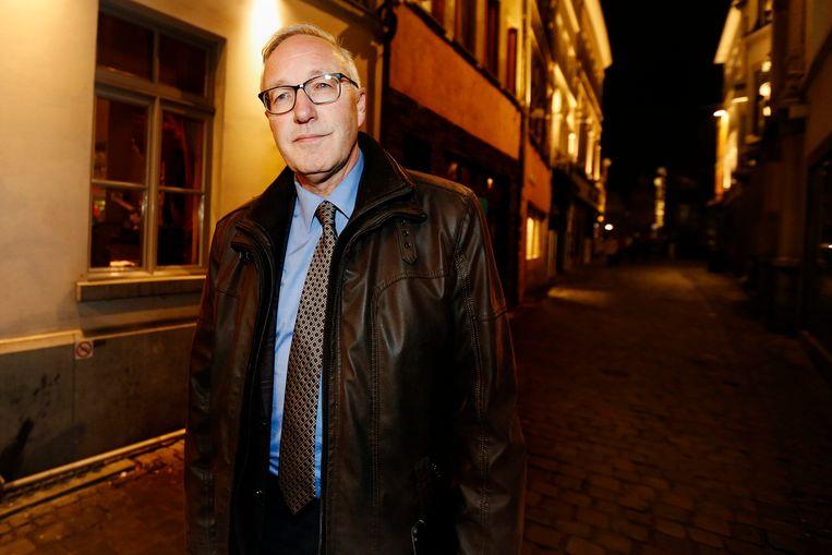 Rudy Coddens vanavond in Gent. Beeld BELGA