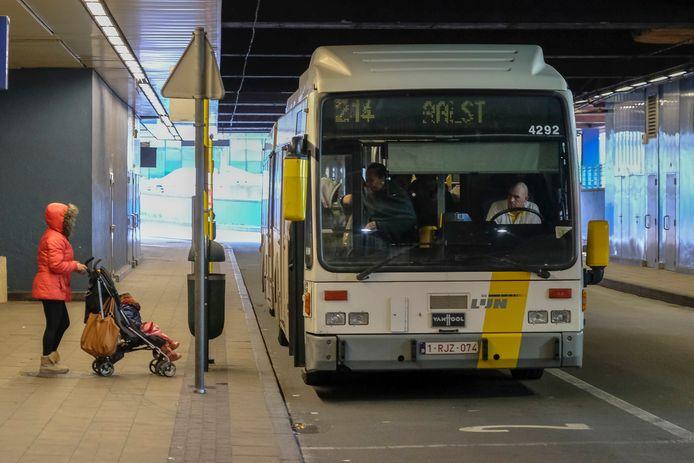 Bussen Brussel Noord.