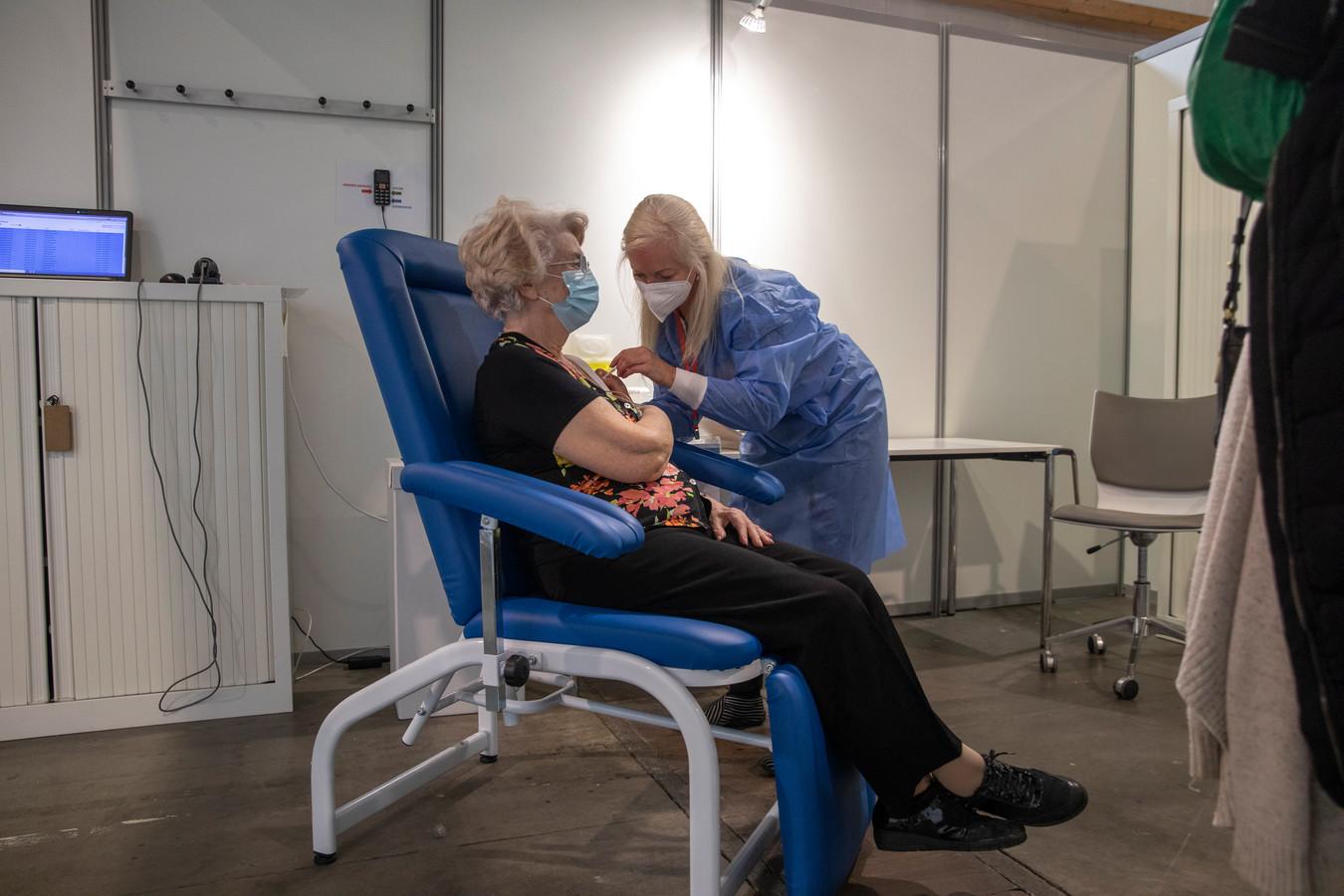 Vaccination au Heysel