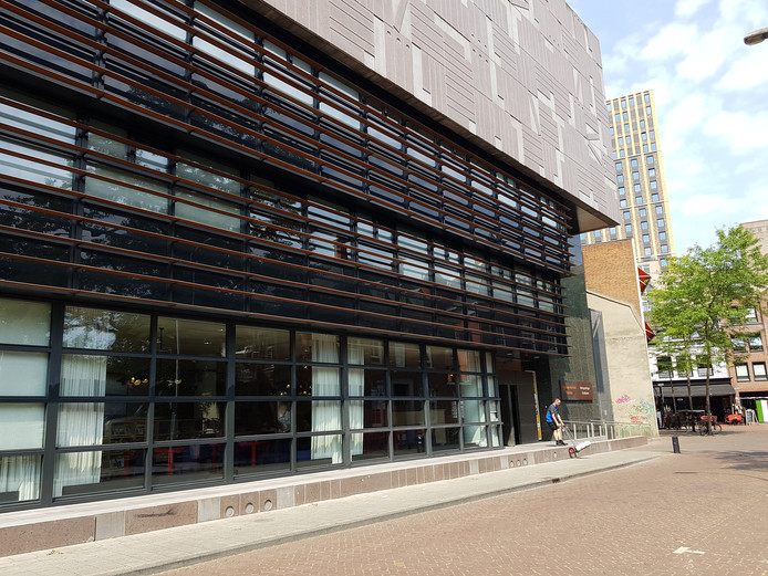 Het RHCe in de Eindhovense binnenstad.
