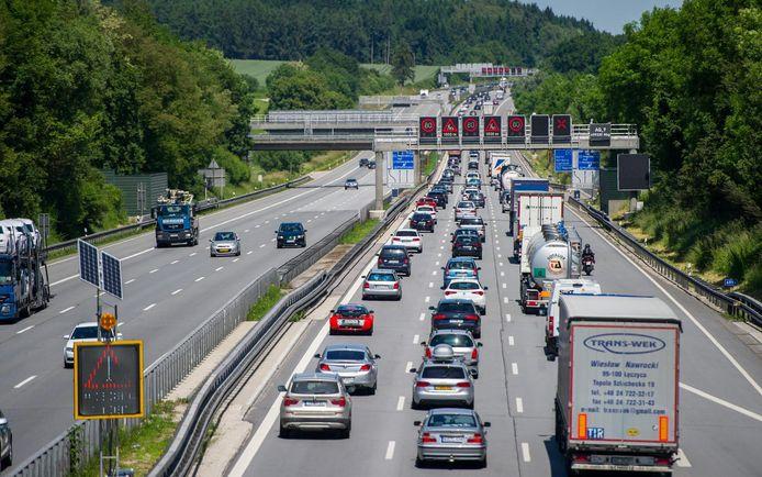 De Duitse Autobahn.