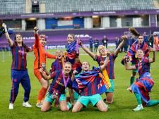Lieke Martens schittert in finale tegen Chelsea en wint Champions League met FC Barcelona