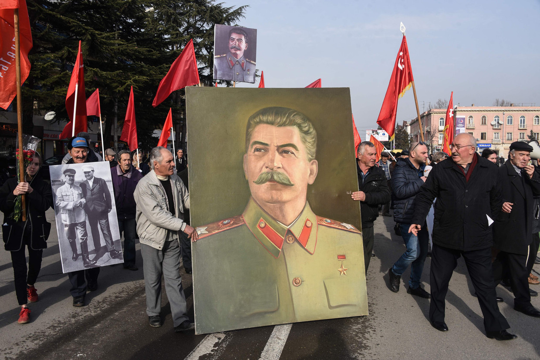 Het Stalinmuseum trok vorig jaar 162.000 bezoekers naar het kleine Gori.