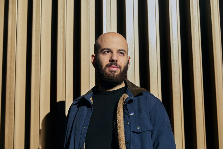 Johnny Boufarhat, CEO van start-up Hopin Beeld NYT