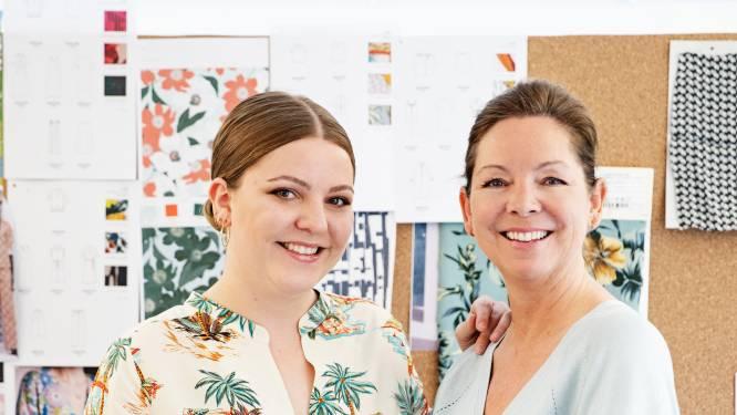 """Felix werkt bij haar mama, modeontwerpster Nathalie Vleeschouwer: """"Onze smaak loopt gelijk, maar ik style de dingen wat jonger"""""""