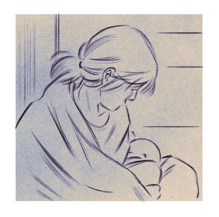 'Onze oudste zoon merkt natuurlijk dat er spanningen zijn bij ons thuis' Beeld Isabel Seliger