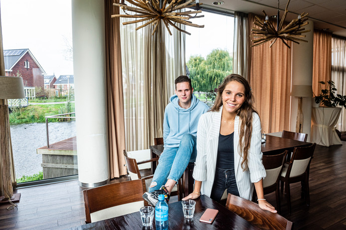 Sylvie van Klaveren en Brian Vesseur organiseren een benefietlunch in voormalig restaurant De Vrienden