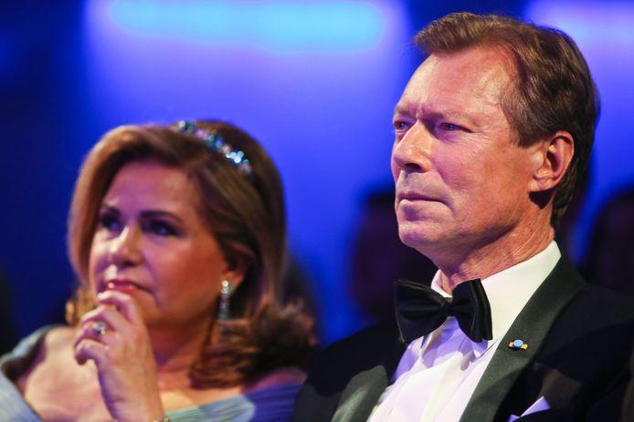 Le Grand-Duc et son épouse