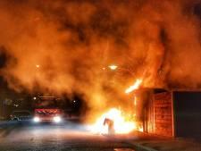 Onrustige nacht voor Amersfoortse brandweer