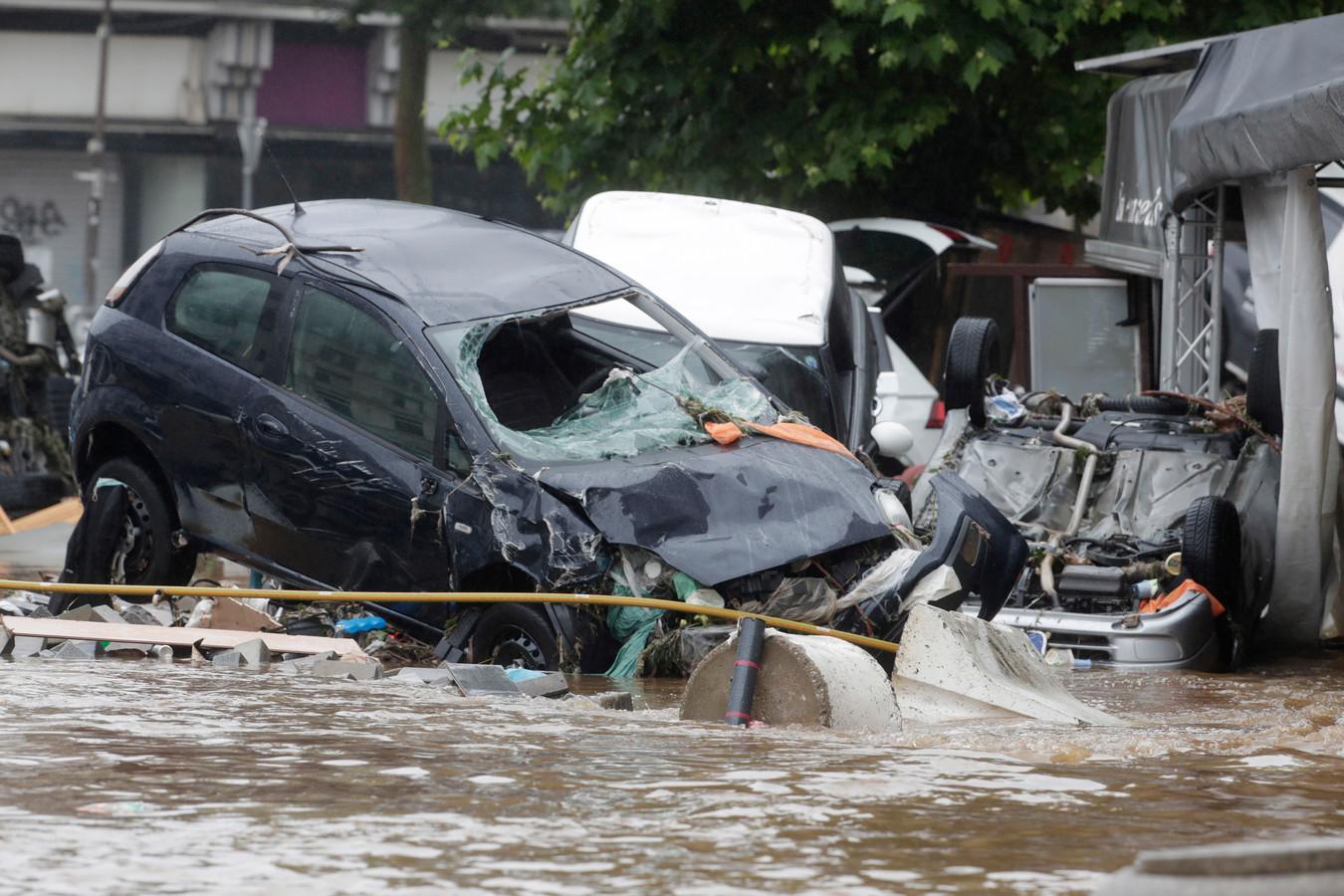 Inondations à Veriers