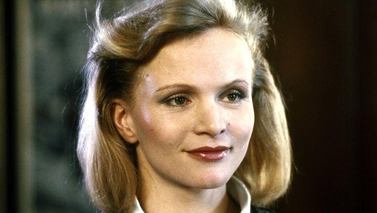 Actrice Renée Soutendijk in de film 'Het meisje met het rode haar' uit 1981. Beeld ANP