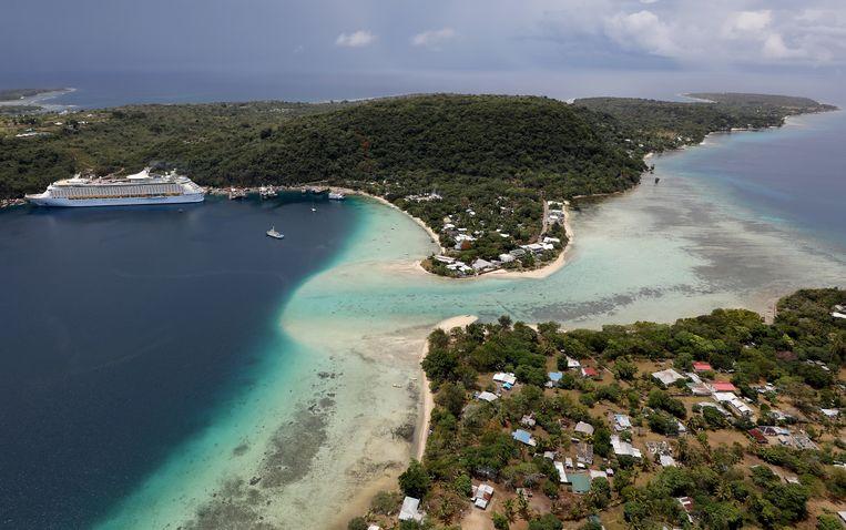 De verkoop van paspoorten was in 2020 goed voor 42 procent van de totale overheidsinkomsten van de eilandengroep. Beeld Getty Images