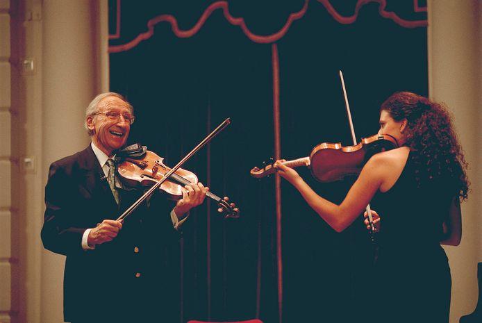 Masterclass met violiste Liza Freschtman.