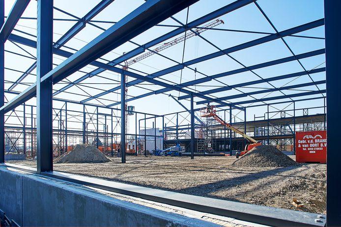 Er moet nog heel wat gebeuren voor de nieuwbouw van Van Tienen in Zeeland in gebruik kan worden genomen