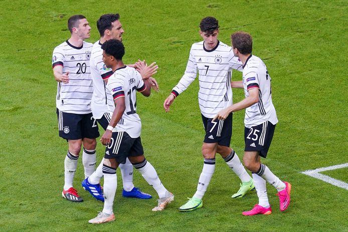 Critiquée après sa défaite contre la France, l'Allemagne a répondu avec la manière sur le terrain.