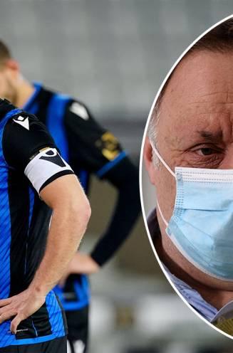 """Club Brugge legt nog strengere interne coronaregels op, Van Ranst zalft en slaat: """"Als in ons lab een experiment lukt, kruipen we niet met zes op elkaar"""""""