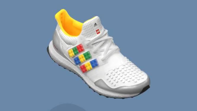 Adidas lanceert legoschoen die je kan versieren met echte legoblokjes