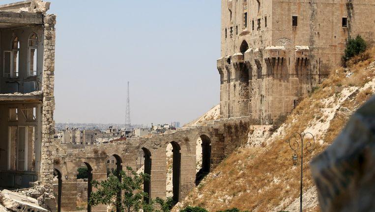 De syrische stad Aleppo. Beeld REUTERS