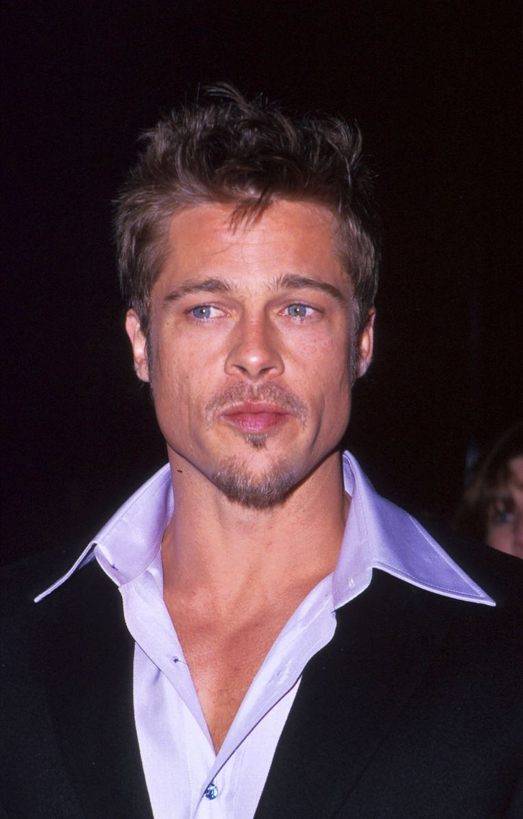 Brad Pitt in de tijd van Fight Club Beeld Getty