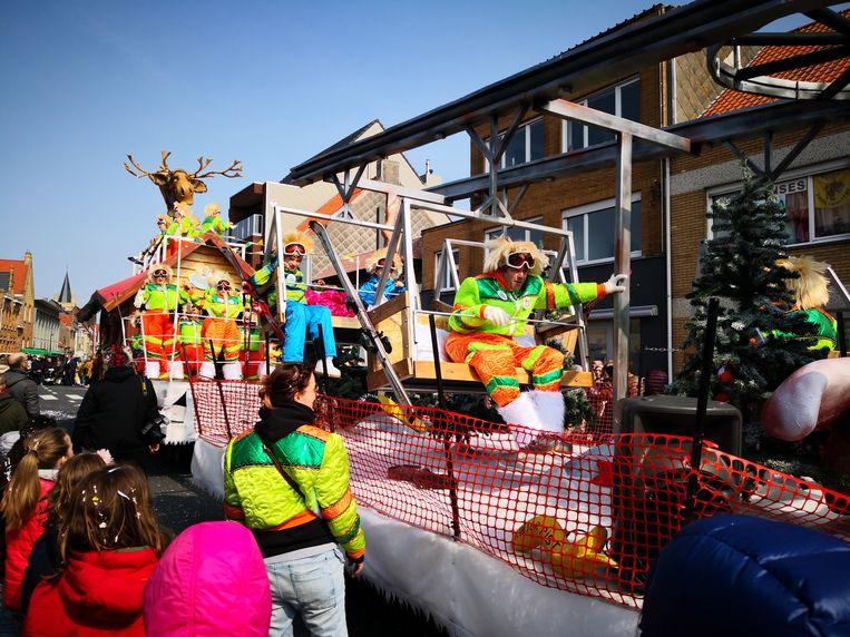 Skiën op een zonovergoten zondag? Deze vereniging was er klaar voor.