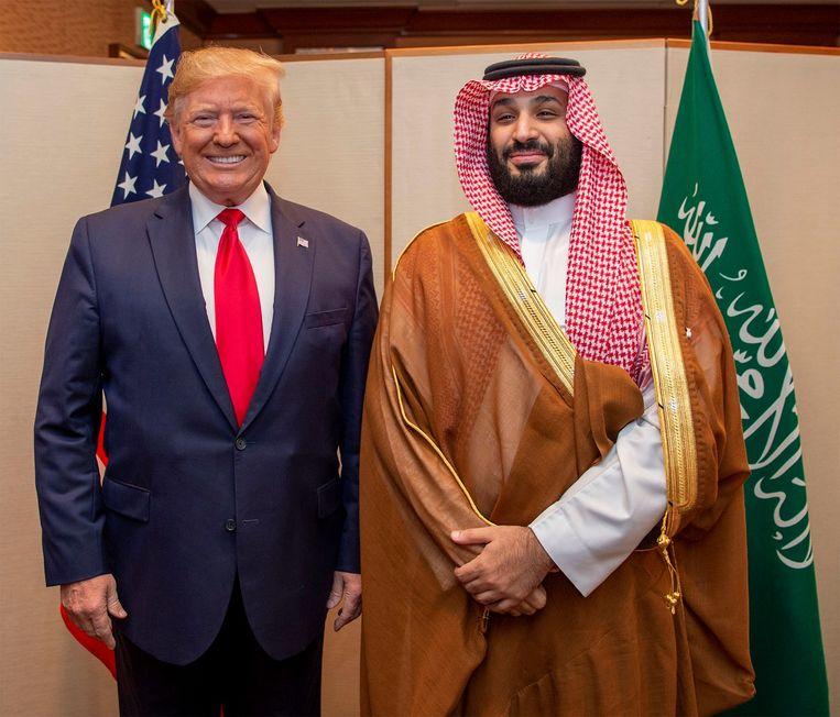 Omar Abdulaziz al-Zahrani (vriend van Khashoggi): 'De Saudische kroonprins is bang geworden: Trump zit niet langer in het Witte Huis om zijn vel te redden.' Beeld Belgaimage