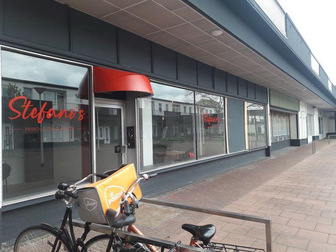Restaurant Stefano's in de Zuiderpassage waar jarenlang Chinees restaurant Nieuw China was gevestigd.