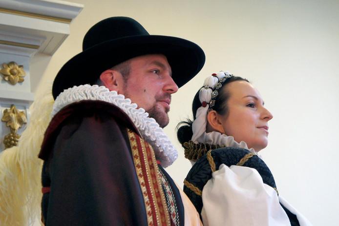 Anna van Buren en Willem van Oranje zijn komend weekeinde te gast in Grave tijdens de  Vestingstedendagen.