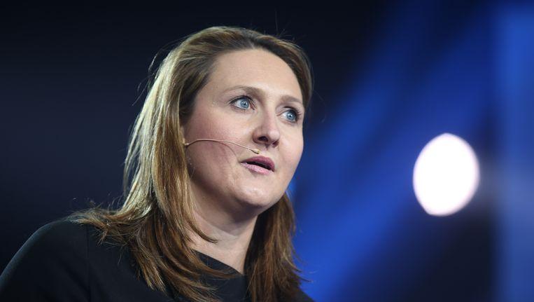 Open Vld-voorzitster Gwendolyn Rutten. Beeld BELGA