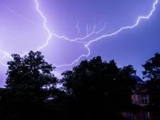 Avertissement jaune aux orages de 13h à 21h dimanche