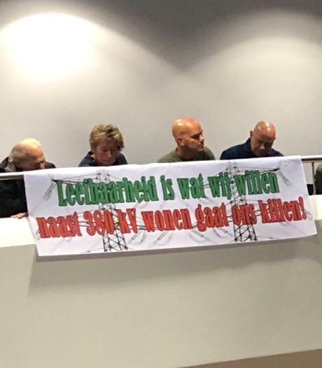 Buurtschap Kattekraem gaat in beroep tegen beslissing ministerie over tracé 380 kV