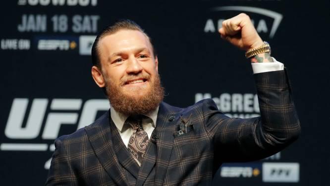 UFC-ster Conor McGregor doneert 500.000 dollar aan een goed doel voor kansarme kinderen