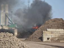 Brand bij recyclingbedrijf in Steenwijk snel onder controle