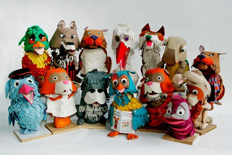 Vreewijk is ook de bakermat van de succesvolle kinderserie 'De Fabeltjeskrant'. Beeld ANP Kippa