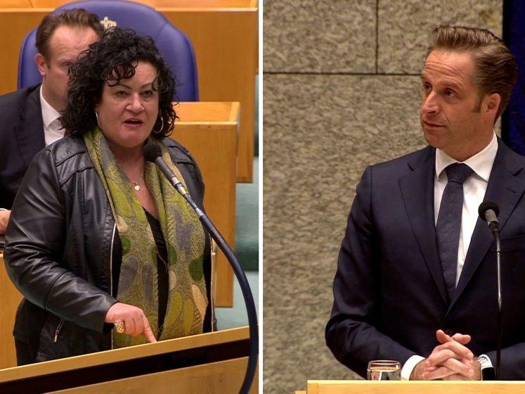 Van der Plas woest op De Jonge: 'Minachtend wat u doet'