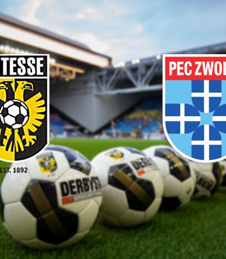 Pakt Vitesse tegen PEC belangrijke punten in strijd om Europees voetbal?