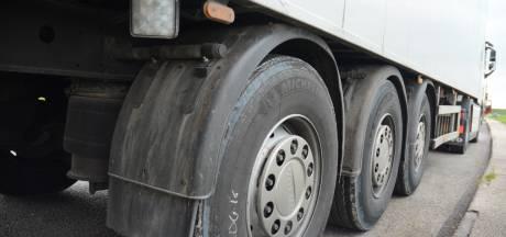 File op A16 en A58 bij Breda na gestrande vrachtwagen