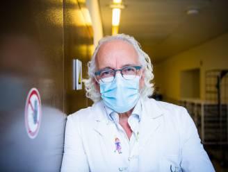 """Marc Noppen (UZ Brussel) ziet aantal patiënten stijgen richting belangrijke grens: """"We houden ons hart vast"""""""