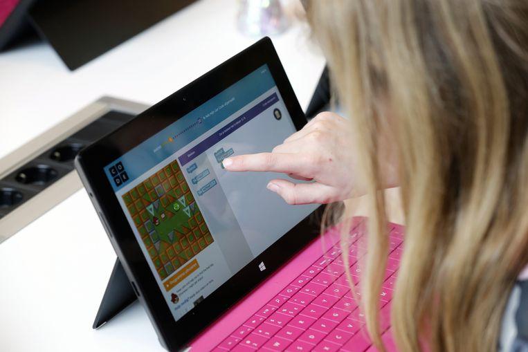 Veel jongeren hebben moeite om online feit van fictie te onderscheiden. Beeld ANP