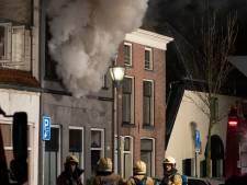 Grote woningbrand in centrum Zutphen na uren blussen onder controle