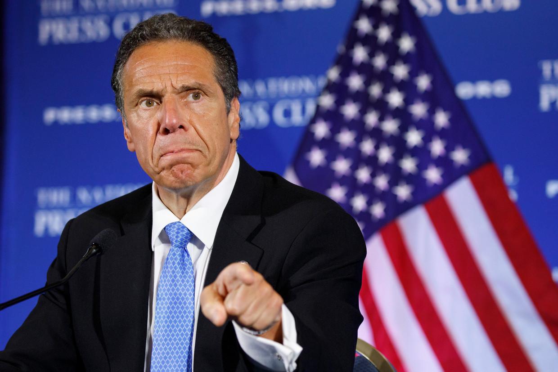 Andrew Cuomo, gouverneur van New York. Beeld AP