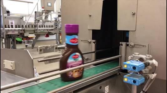 Chocolade schenkstroop