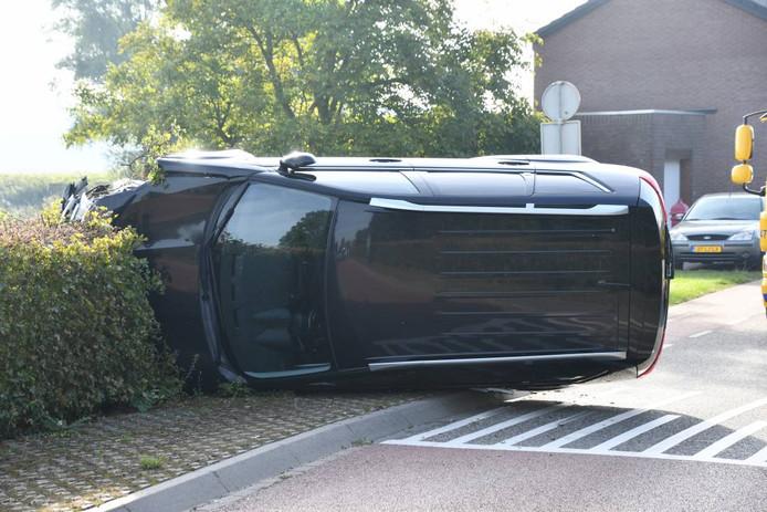 Auto op zijkant