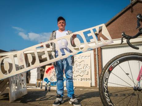 Cauberg mist Dolle Dries: Amstel Gold Race voor het eerst zonder 'wereldberoemde' Oldebroekse asfaltgraffiti