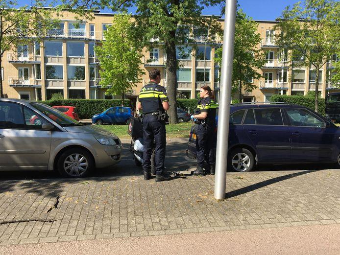 Politieonderzoek op de Joseph Haydnlaan in Utrecht.