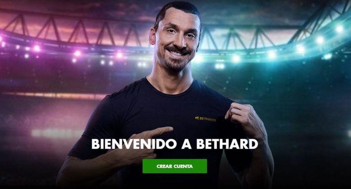 Zlatan maakte met de videoboodschap gewoon reclame voor Bethard.
