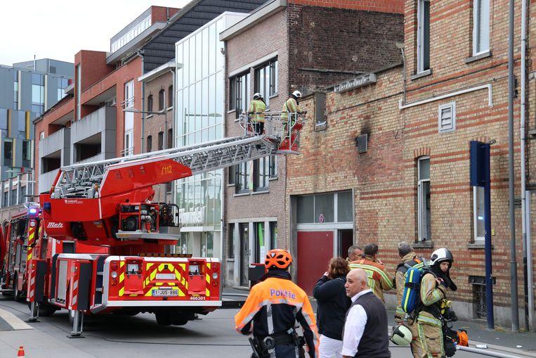De brandweer kon de brand snel onder controle krijgen.
