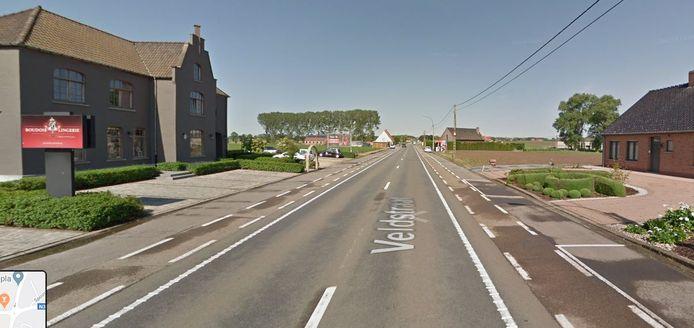 De Veldstraat in Meulebeke.